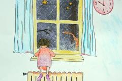 Kijken uit het raam...